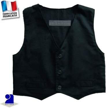 Gilet sans manche 0 mois-10 ans Made in France