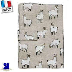 Protège carnet de santé imprimé Lama Made in France