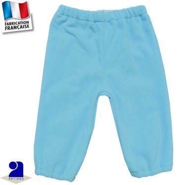 Pantalon chaud élastiqué 0 mois-2 ans Made in France