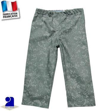 Pantalon façon jean, taille réglable Made in France