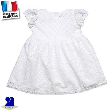 Robe manches courtes Made in France