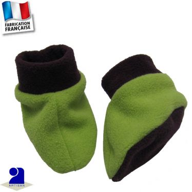 Chaussons-chaussettes 0 mois-12 mois Made in France