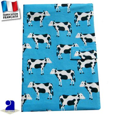 Protège carnet de santé imprimé Vaches Made in France
