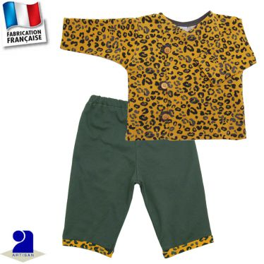 Ensemble 2 pièces pantalon et gilet, Made in France