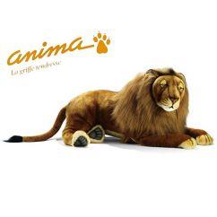 Peluche Lion Couché 100 cm