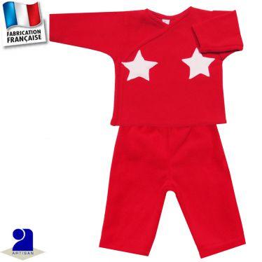 Ensemble 2 pièces pantalon et gilet, Made in France