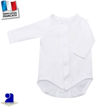 Body naissance manches longues Made in France