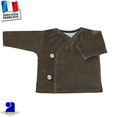 Gilet brassière naissance uni Made in France