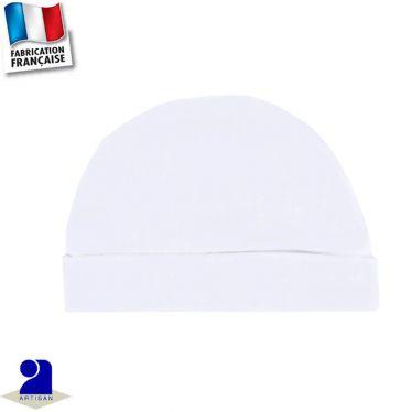 Bonnet avec revers uni Made in France