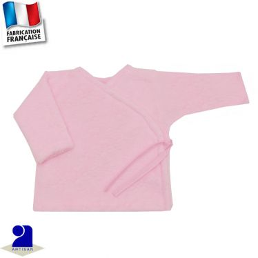 Gilet brassière touché peluche Made in France