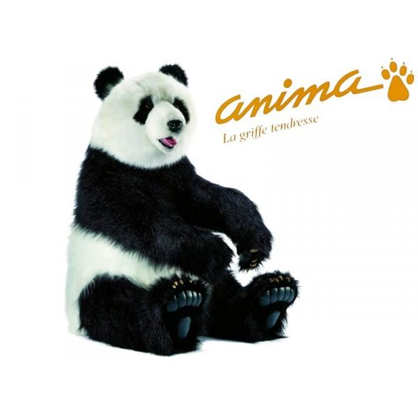 peluche panda assis 105 cm. Black Bedroom Furniture Sets. Home Design Ideas