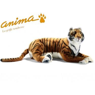 Peluche Tigre Couché 100 cm