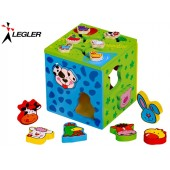 Cube d'Activités bois 2 en 1