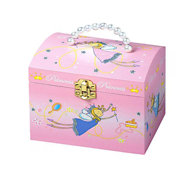 boite bijoux musicale perles princesses. Black Bedroom Furniture Sets. Home Design Ideas