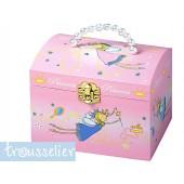 Boite à Bijoux Musicale Perles Princesses