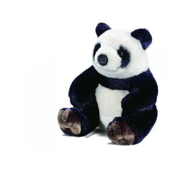 peluche panda assis 27 cm. Black Bedroom Furniture Sets. Home Design Ideas