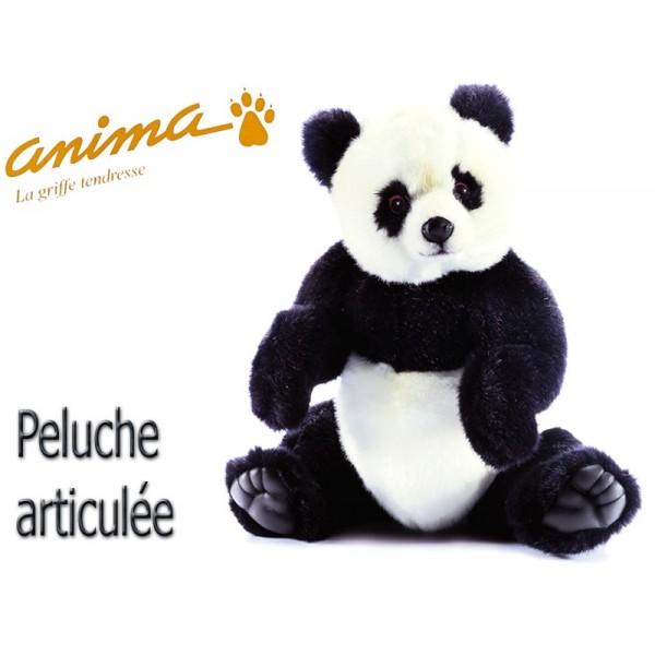 peluche panda articul 40 cm. Black Bedroom Furniture Sets. Home Design Ideas