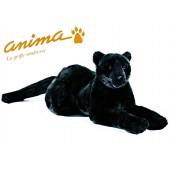Peluche Panthère noire couchée 50 cm