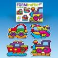 Puzzle Les véhicules par 4