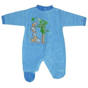 Pyjama manches longues brodé Savane