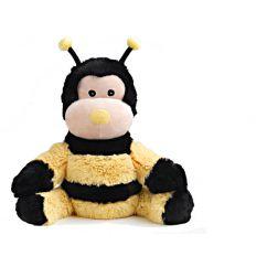 Bouillotte peluche abeille